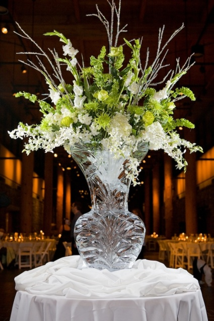 Ice Sculpture Vase – spotted on Pinterest