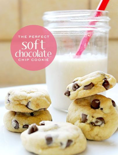 Bake the Perfect Soft Chocolate Chip Cookie – recipe shared on Casa Di Moo