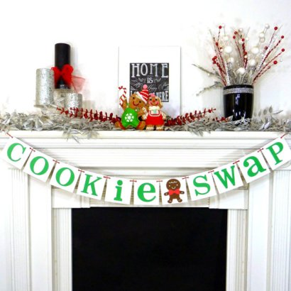 Cookie Swap Banner – made by BannerCheerJR on Etsy