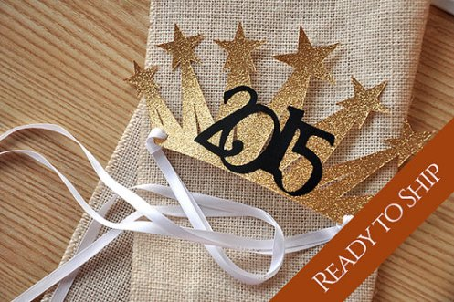 New Year's Eve Party Decoration Hats – made by courtneyorillion on Etsy