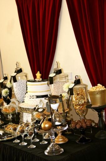 Glamorous Candy Bar – shared on Catch My Party by Mary K