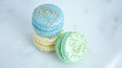 "French Macaroon Cookies in the ""Baby Boy Trio"" – made by SplendidSweetShoppe on Etsy"