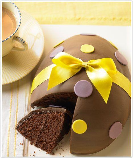 Easter Egg Cake Recipe – shared by Marabous