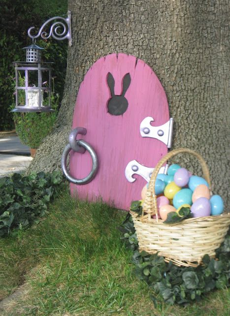 Easter Bunny Front Door – shared by Dave Lowe