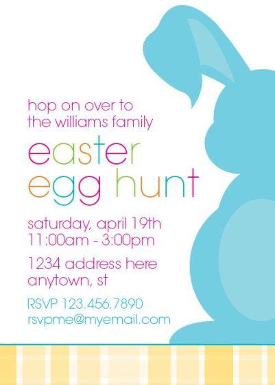 Easter Egg Hunt Invitation – made by CrowningDetails on Etsy