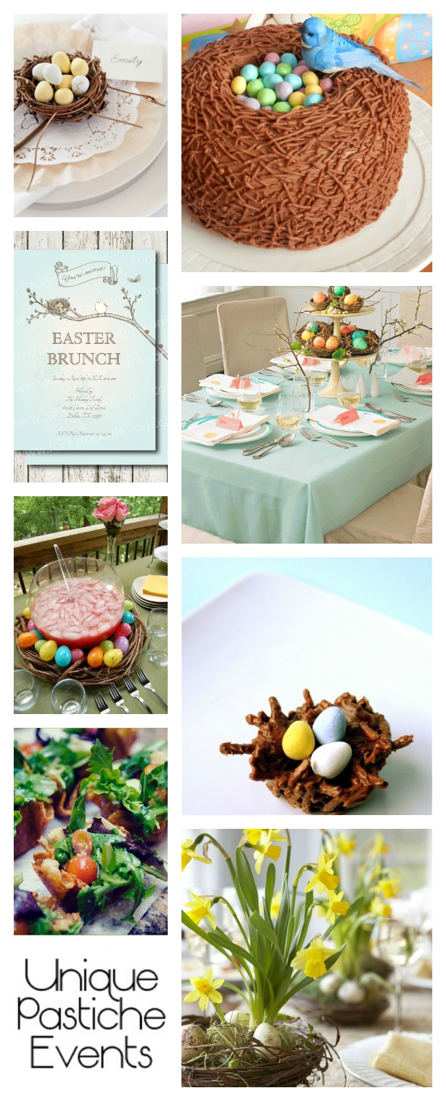 Easter Morning Brunch Ideas by Unique Pastiche Events