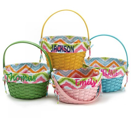 Personalized Monogrammed Easter Baskets – made by eugenie2 on Etsy