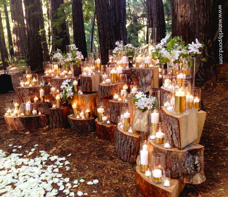 Forest Wedding Unique Pastiche Events