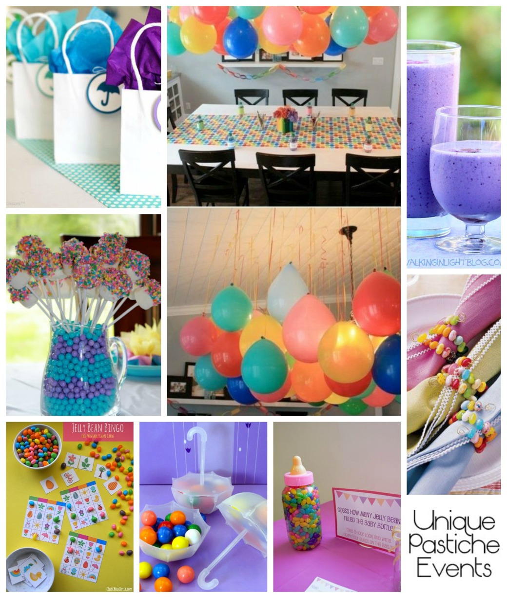 Colorful Jelly Bean Baby Shower Ideas by Unique Pastiche Events