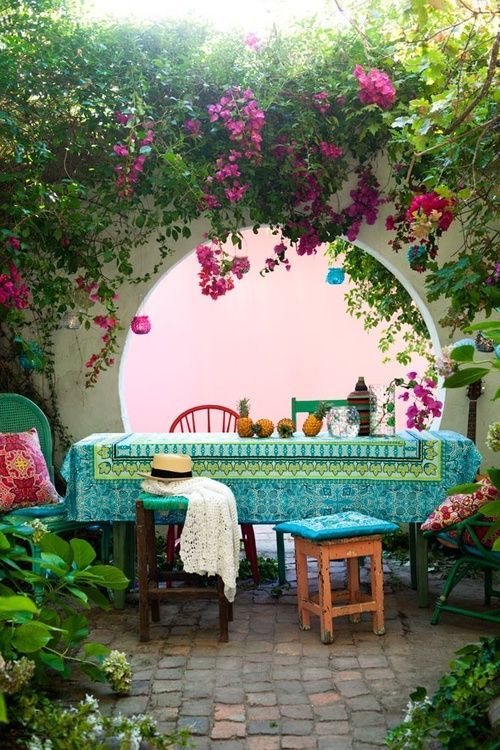 Bohemian Patio Party Ideas | Unique Pastiche Events on Bohemian Patio Ideas id=50709