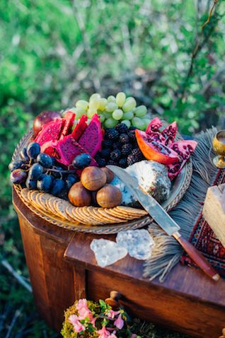 Rustic Food Spread – shared on Burnett's Boards