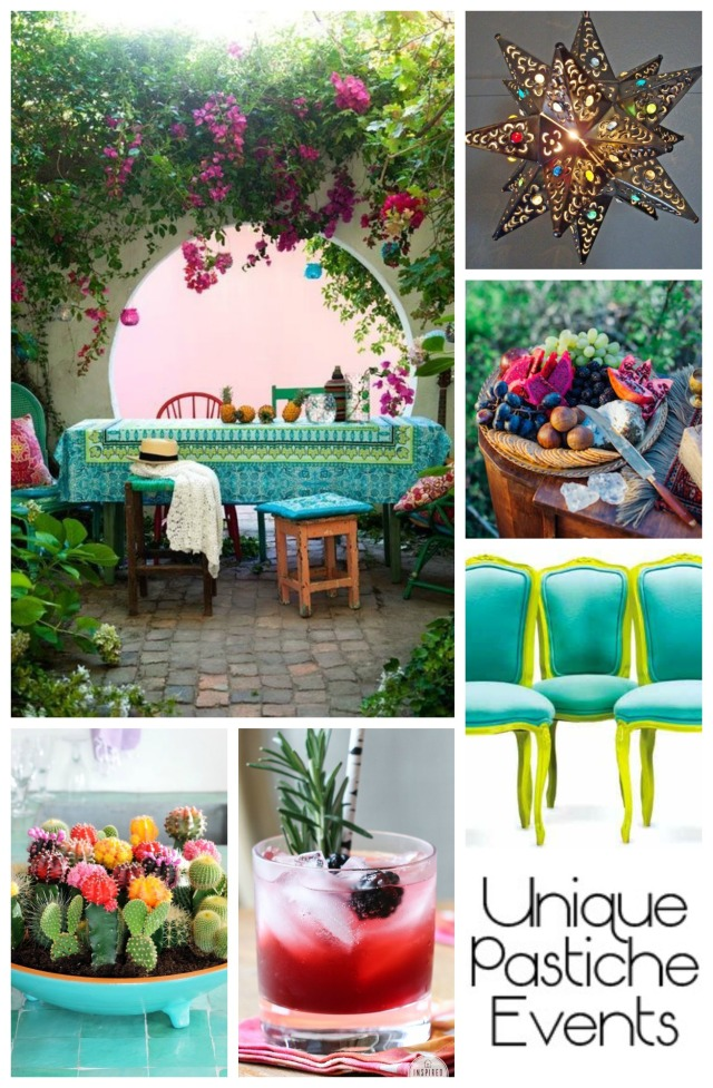 Bohemian Patio Party Ideas
