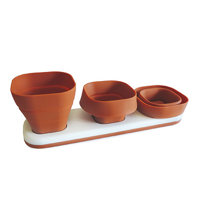Convertible Herb Pots – set of 3