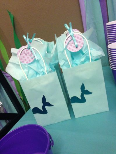 Mermaid and Merman Goodie Bags – spotted on Pinterest