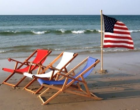 Beach Chair Set Up – shared by Cape Cod Beach Chair Company