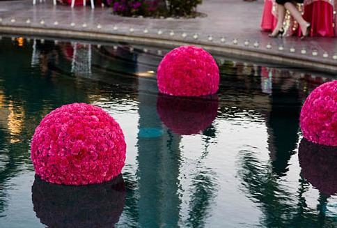 Floating Pink Flower Water Décor – featured on PopSugar