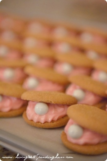 """Oyster """"Pearl"""" Cookies Recipe – shared by Living Well Spending Less"""