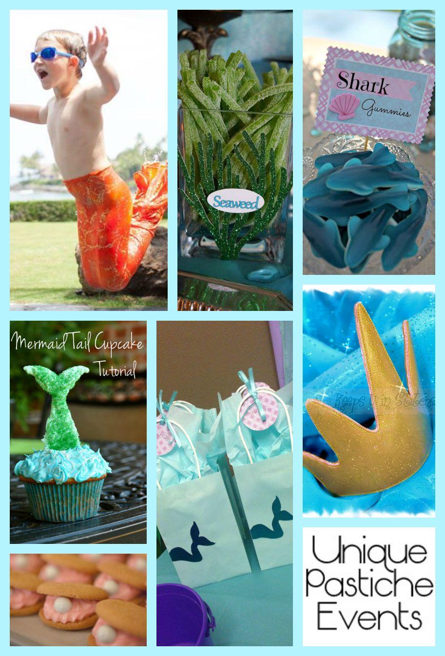 Mermaid + Merman Under the Sea Summer Party