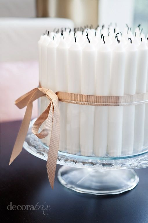 Candle Cake – spotted on Pinterest