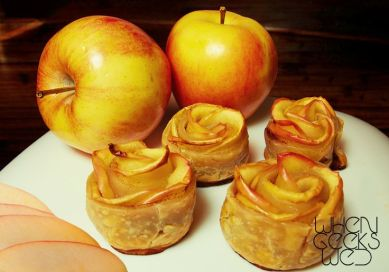 Rosie Cotton's Apple Tarts – recipe shared on When Geeks Wed