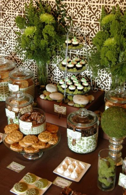 Forest and Woodsy Party Food Station Buffet – spotted on Pinterest