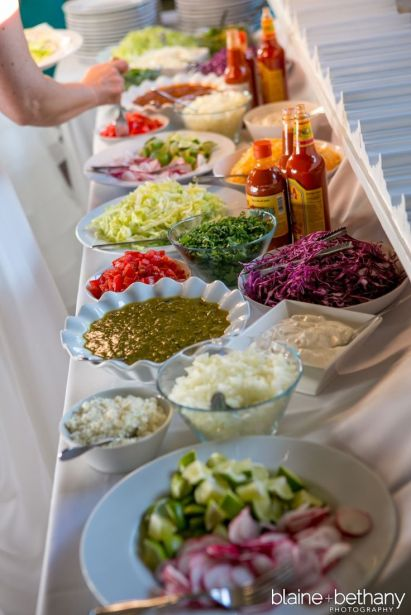 Taco Bar Food Spread – spotted on Pinterest