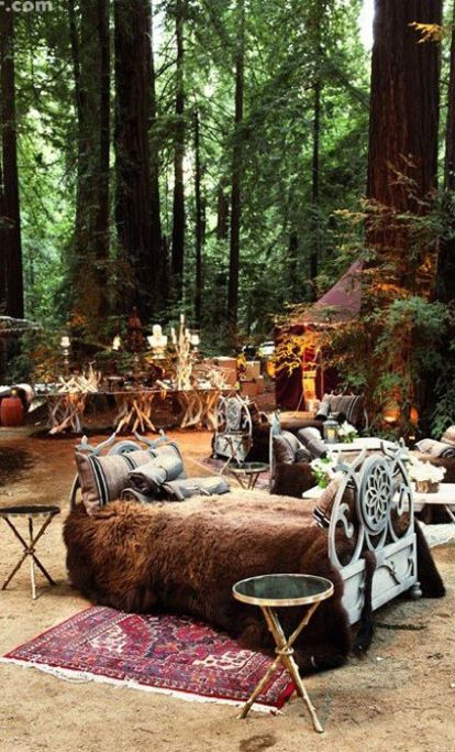 Enchanted Forest Lounge – shared on The Knot