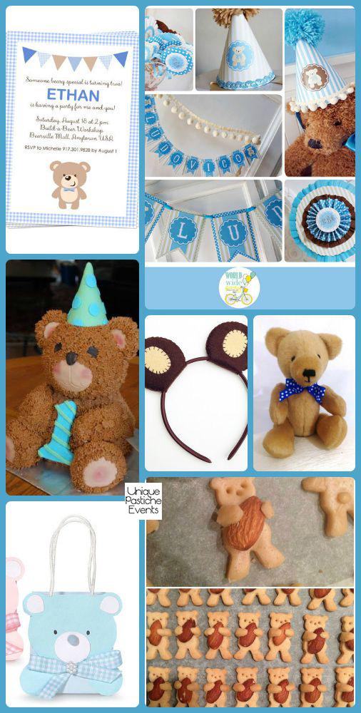 Birthday Bear Picnic Ideas for National Teddy Bear Day