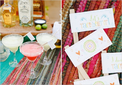 Tequila Bar Station – shared on Wedding Chicks