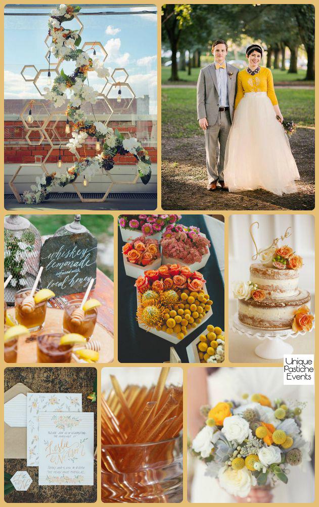 Honeycomb Summertime Wedding Ideas