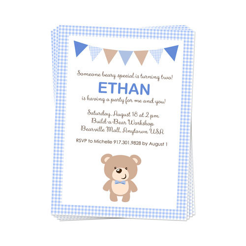 Birthday bear picnic ideas for national teddy bear day unique printable teddy bear party invitation created and sold by daysignsbyday on etsy filmwisefo