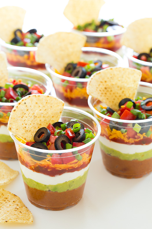Layer Bean Dip on Pinterest | Layered Bean Dip, Greek Layer Dip ...