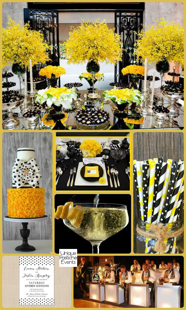 Pops of Polka Dots Soiree Inspiration