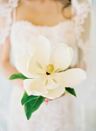 Oversized Paper Magnolia Bouquet – shared on a roundup post over on Wedding Party
