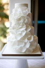 White on White Magnolia Cake – spotted on Pinterest