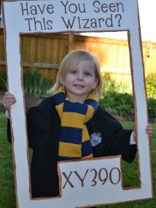 """Have You Seen This Wizard?"" Harry Potter Photo Booth – shared on Fun-Filled Flicks"