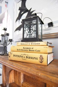 Printable Halloween Book Covers – shared on Little House on the Corner