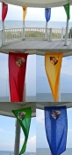 Harry Potter House Banner Décor – shared on Home Stories A to Z