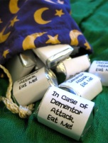 In Case of Dementor Attack Eat Me Candies – shared on See Suzy Spin
