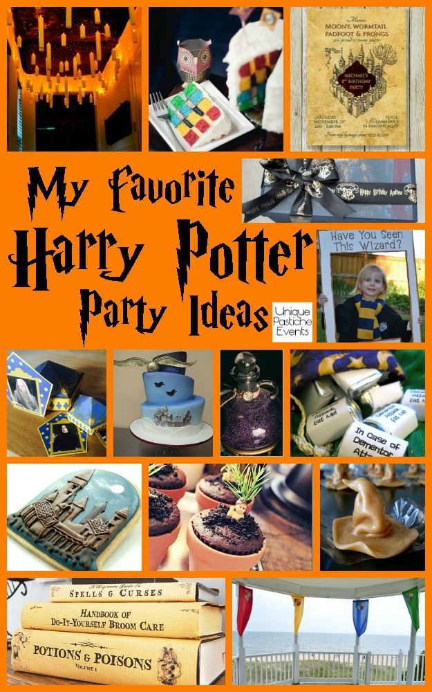 My Favorite Harry Potter Party Ideas by Unique Pastiche Events