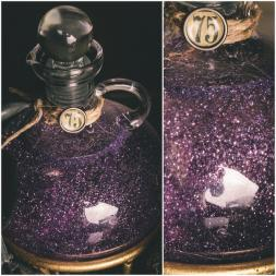 Glitter Potion Bottle – tutorial shared on Scrapbook.com