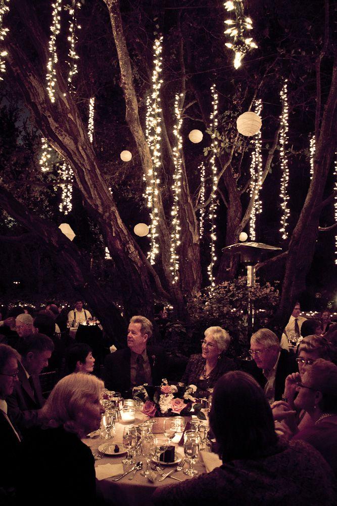 DIY Garden Party Wedding Lights - shared on Studio DIY ...