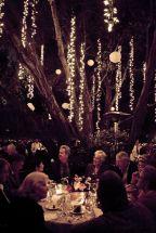 DIY Garden Party Wedding Lights – shared on Studio DIY