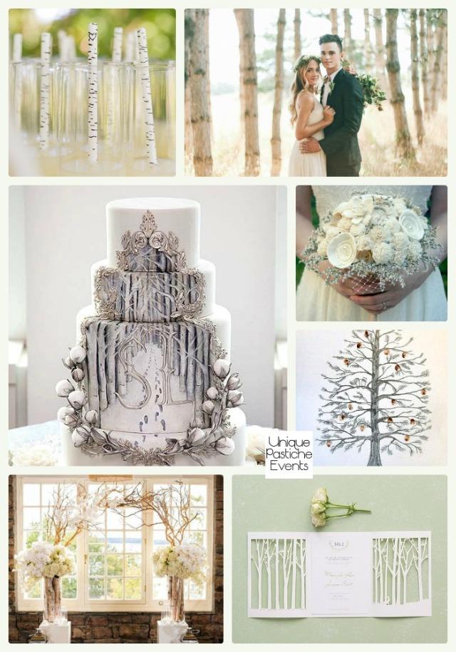 Enchanted Birch Forest - Winter Wedding Ideas