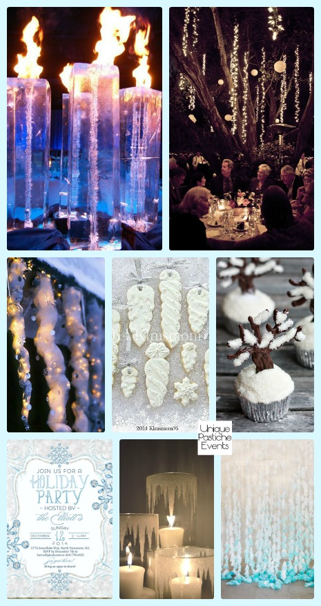 Frozen Icicle Holiday Party Ideas