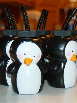 Penguin Cups – shared by Whirligig Bug