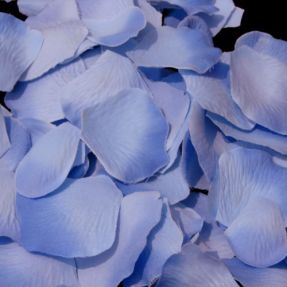 Serenity Periwinkle Rose Petal Flower Basket Petals – available on Advantage Bridal