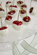 Cherries Dipped in White Chocolate – recipe shared by Simple Provisions