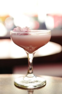 Haru's Cherry Blossom Cocktail – recipe shared by Polka Dot Made Weddings