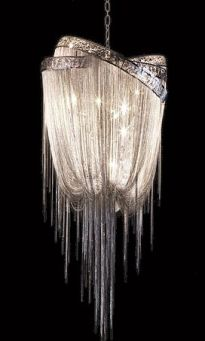 Luxurious Crystal Chandelier – spotted on Pinterest